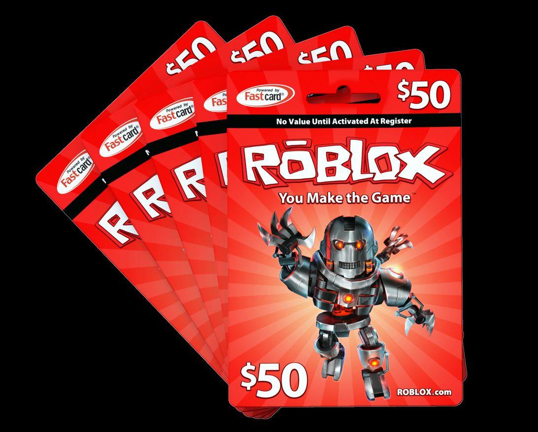 Roblox fan gift cards