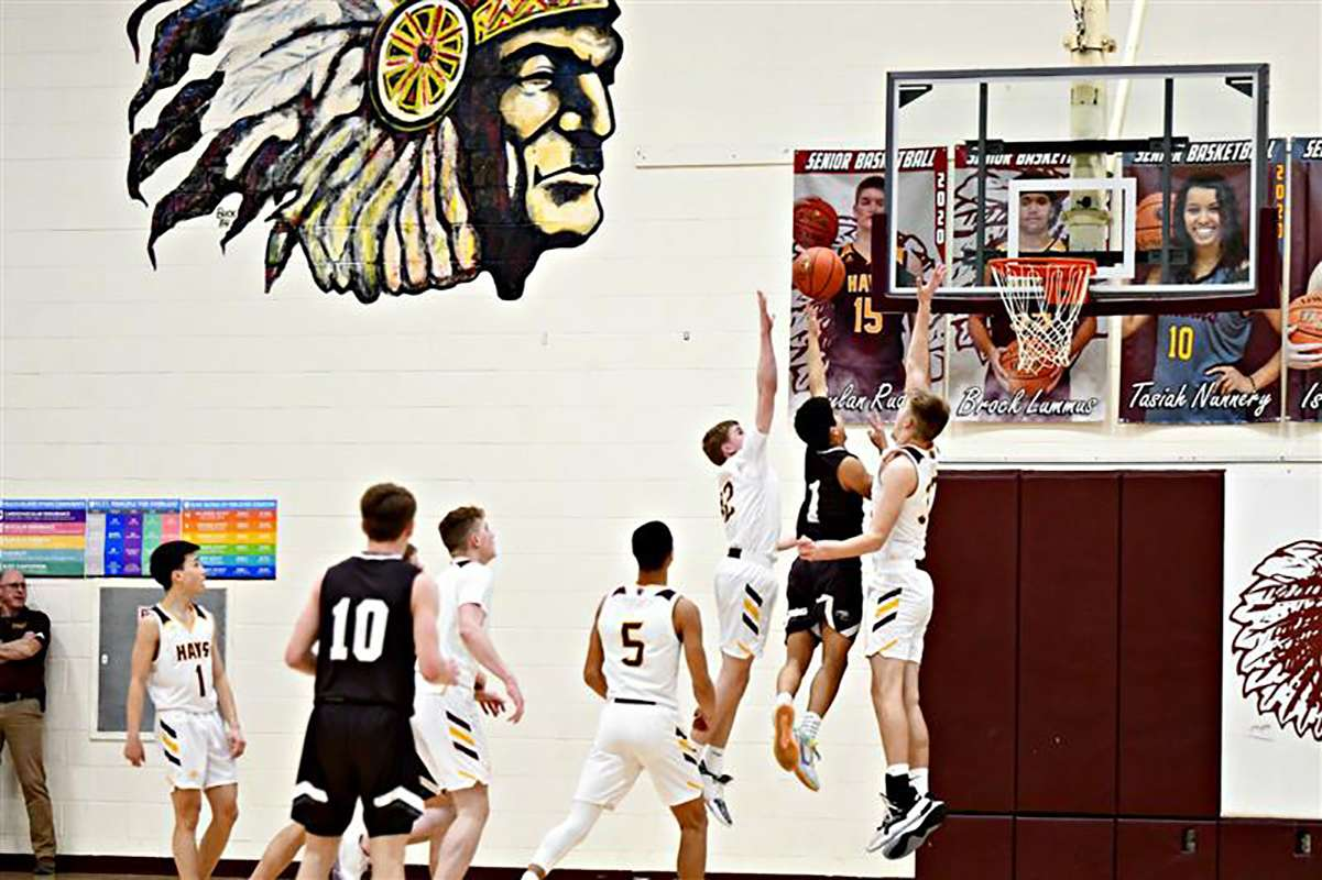 """Hays High School basketball during the 2019-20 school year. The school needs a new gym floor. Because of age, there are dead spots in the floor. Photos courtesy of Kim Reel Photography&nbsp;<a href=""""https://www.facebook.com/kimreelphotography"""" target=""""_blank"""">https://www.facebook.com/kimreelphotography</a>"""