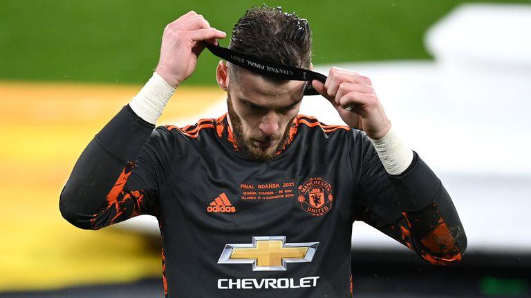David de Gea missed the decisive spot kick for Man Utd in their Europa League final with Villarreal